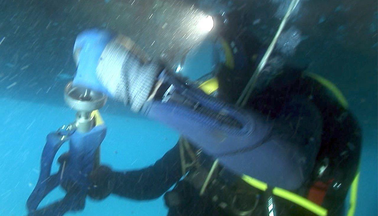image Underwater Fixing Technology